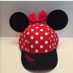 Walt Disney World Minnie Mouse Youth Red/White